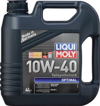Liqui Moly Optimal 10W-40 SL/CF  4л  3930
