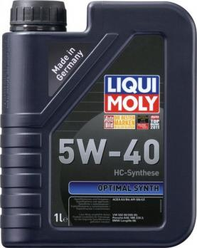 Liqui Moly Optimal Synth  5W-40 SN  1л  3925
